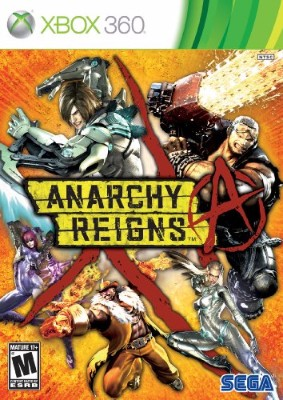 Anarchy Reigns Cover Art