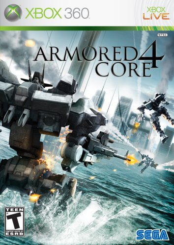 Armored Core 4 Cover Art