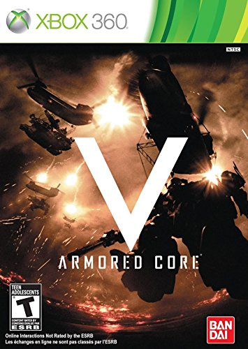 Armored Core V Cover Art