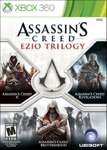 Assassin's Creed: Ezio Trilogy Cover Art