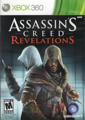 Assassin's Creed Revelations Cover Art