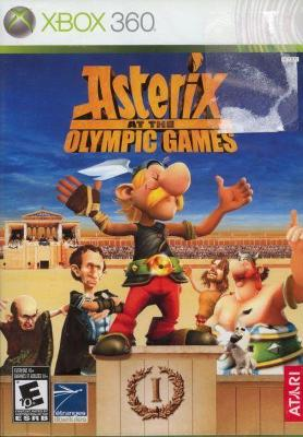 Asterix at the Olympic Games Cover Art