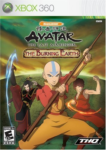 Avatar: The Burning Earth Cover Art
