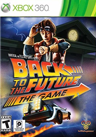 Back to the Future: The Game 30th Anniversary Cover Art