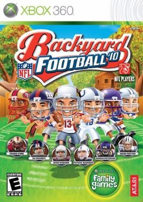 Backyard Football '10 Cover Art