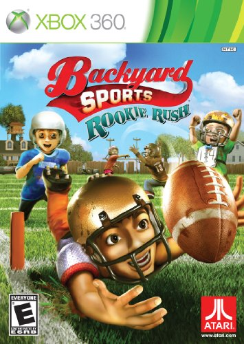 Backyard Sports: Rookie Rush Cover Art