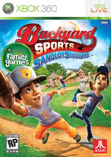 Backyard Sports: Sandlot Sluggers Cover Art