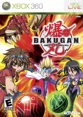 Bakugan: Battle Brawlers Cover Art