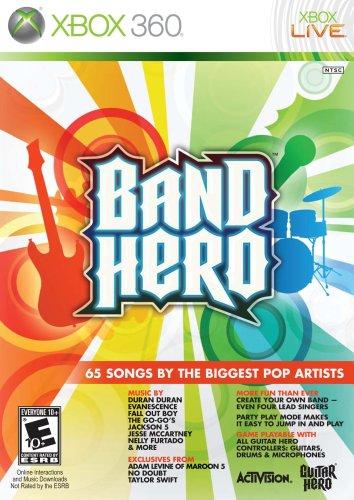Band Hero Cover Art