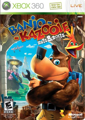 Banjo-Kazooie: Nuts & Bolts Cover Art