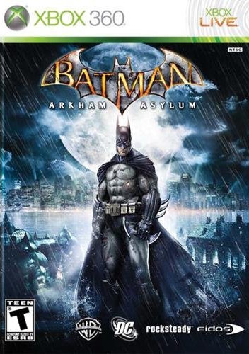 Batman: Arkham Asylum Cover Art
