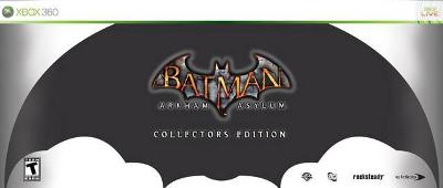 Batman: Arkham Asylum [Collector's Edition] Cover Art