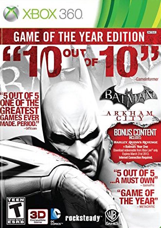 Batman: Arkham City [Game Of The Year Edition] Cover Art