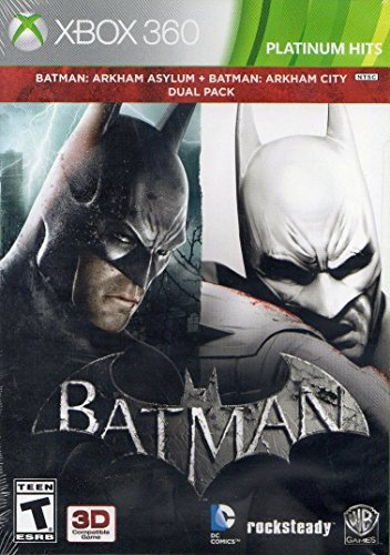Batman Arkham Dual Pack Cover Art