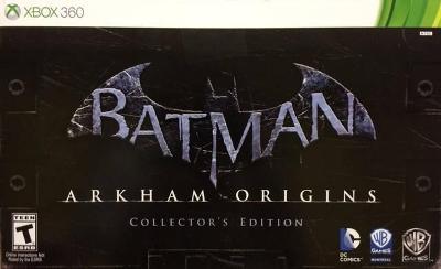 Batman: Arkham Origins [Collector's Edition] Cover Art