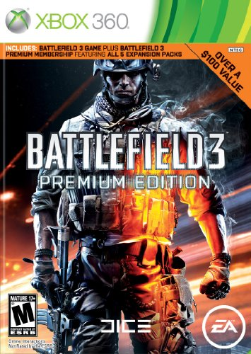 Battlefield 3 [Premium Edition] Cover Art