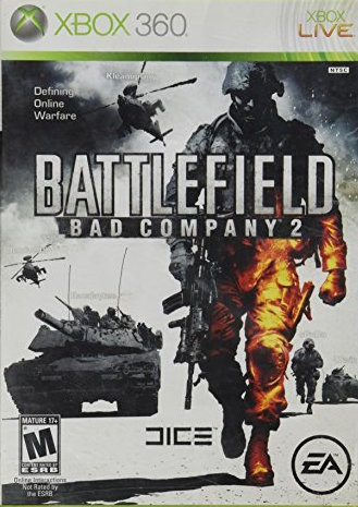 Battlefield: Bad Company 2 Cover Art