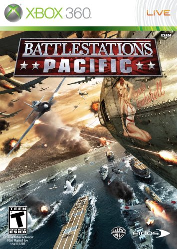 Battlestations: Pacific Cover Art