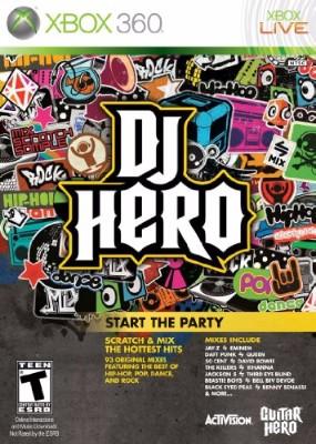 DJ Hero Cover Art