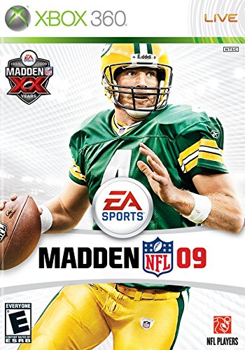 Madden NFL 09 Cover Art