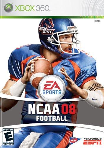 NCAA Football 08 Cover Art
