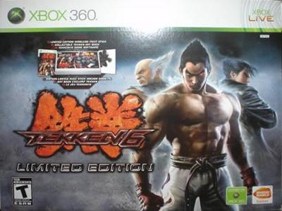 Tekken 6 Limited Edition Value Price Xbox 360