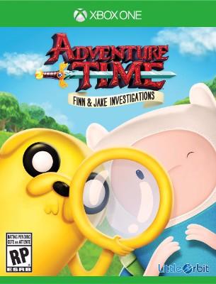 Adventure Time: Finn & Jake Investigations Cover Art