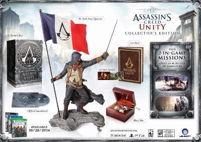 Assassin's Creed: Unity [Collector's Edition] Cover Art