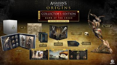 Assassin's Creed Origins [Dawn of the Creed Collector's Edition] Cover Art