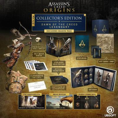 Assassin's Creed Origins [Dawn of the Creed Legendary Collector's Edition] Cover Art