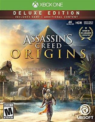 Assassin's Creed Origins [Deluxe Edition] Cover Art
