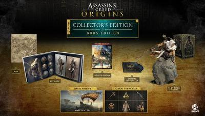 Assassin's Creed Origins [Gods Collector's Edition] Cover Art