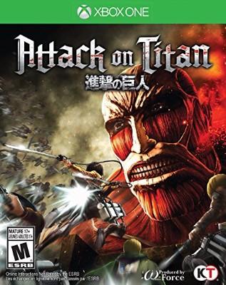 Attack on Titan Cover Art