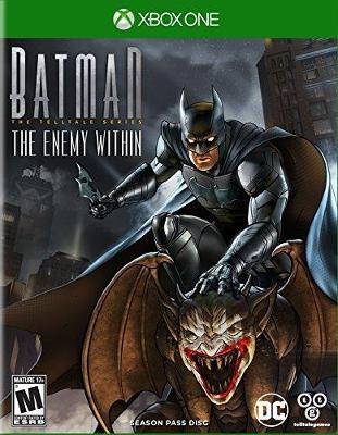Batman: The Enemy Within - The Telltale Series Cover Art