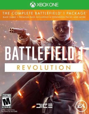 Battlefield 1: Revolution Cover Art
