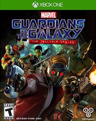 Marvel's Guardians of the Galaxy: The Telltale Series Cover Art