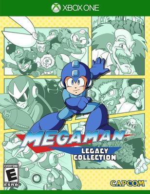 Mega Man Legacy Collection Cover Art