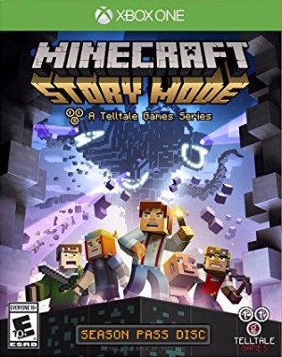 Minecraft: Story Mode Cover Art