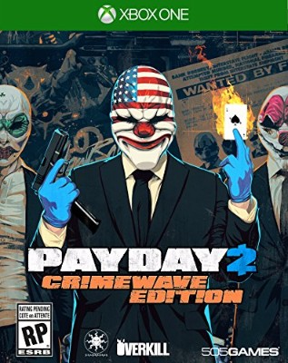 Payday 2: Crimewave Edition Cover Art
