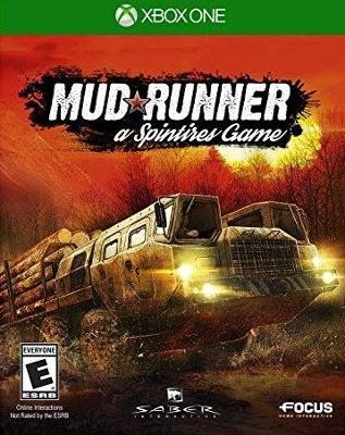 MudRunner: A Spintires Game Cover Art